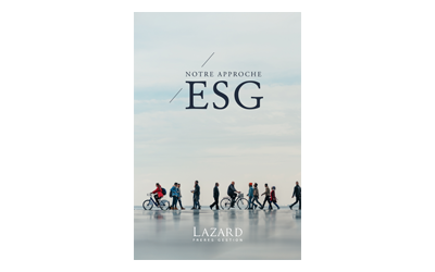 Notre approche ESG